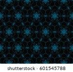 modern geometric seamless... | Shutterstock .eps vector #601545788