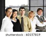 portrait of business people in... | Shutterstock . vector #60157819
