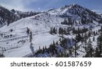 Aerial View Of Squaw Valley...