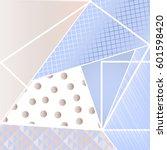 Textured Geometric Background...
