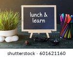 mini blackboard concept writing ... | Shutterstock . vector #601621160