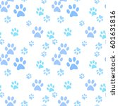 vector seamless pattern with... | Shutterstock .eps vector #601631816