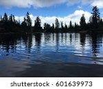 Dark Lake Reflections