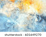abstract sky with shiny color... | Shutterstock . vector #601649270