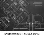 engineering backgrounds.... | Shutterstock .eps vector #601651043