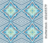 vector seamless pattern ... | Shutterstock .eps vector #601655579