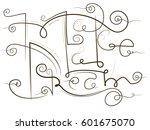 make a dream lettering. hand... | Shutterstock .eps vector #601675070