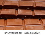 Chocolate Bars As Background....