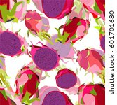 illustration of a pattern with... | Shutterstock .eps vector #601701680