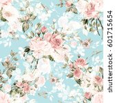 Seamless Watercolor Pattern...