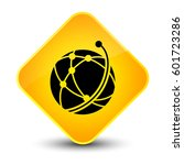 global network icon isolated on ... | Shutterstock . vector #601723286