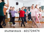 group of boys and girls... | Shutterstock . vector #601724474