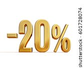 gold sale  20   gold percent... | Shutterstock . vector #601728074