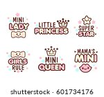 cute kawaii emoticons with text ... | Shutterstock .eps vector #601734176
