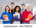 student. | Shutterstock . vector #601738310