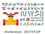 details pipes different types...   Shutterstock .eps vector #601747139