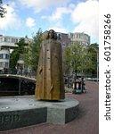 amsterdam  netherlands  ... | Shutterstock . vector #601758266