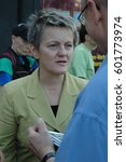 Small photo of Renate Elly Kuenast, German politician, the Greens, speaks in Berlin Charlottenburg on September 15, 2006, Germany