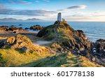 the lighthouse on llanddwyn...
