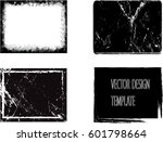 stamps collection. grunge... | Shutterstock .eps vector #601798664