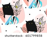 hand drawn vector abstract... | Shutterstock .eps vector #601799858