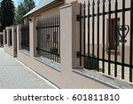 fence | Shutterstock . vector #601811810