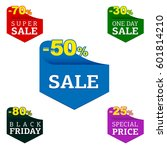 black friday  sale  special... | Shutterstock .eps vector #601814210
