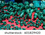rare gems and minerals on a... | Shutterstock . vector #601829420