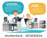 working with quality company.... | Shutterstock .eps vector #601830626