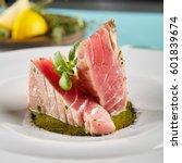 restaurant food   delicious... | Shutterstock . vector #601839674