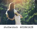 happy family in mother's day... | Shutterstock . vector #601861628