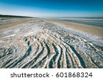 frozen beach in cold winters...   Shutterstock . vector #601868324