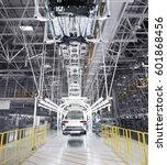 automobile production line   Shutterstock . vector #601868456