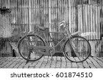 Vintage Bike In Old Town....