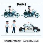 vector cartoon funny set...