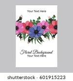 vector illustration. floral... | Shutterstock .eps vector #601915223