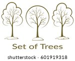 landscapes  symbolic trees... | Shutterstock . vector #601919318