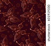 seamless background  tile... | Shutterstock . vector #601919330