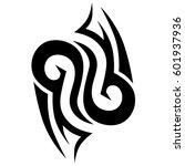 tattoo tribal vector designs... | Shutterstock .eps vector #601937936