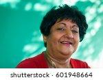 portrait of real happy cuban... | Shutterstock . vector #601948664