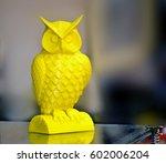 modern 3d printer printing... | Shutterstock . vector #602006204