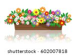 Stock vector beautiful flowers flowers vector 602007818