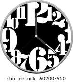 Clock Face Vector Design