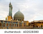 blur in iran  and old antique... | Shutterstock . vector #602028380