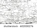 distressed overlay texture of... | Shutterstock .eps vector #602030276