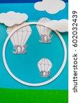 concept of modern sale. sky ... | Shutterstock . vector #602032439