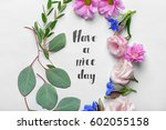 "inscription ""have a nice day""... 