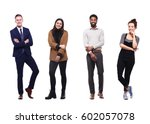 group of full body people | Shutterstock . vector #602057078
