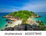 amazing viewpoint island near...   Shutterstock . vector #602057840