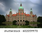 Stock photo new townhall hannover 602059970